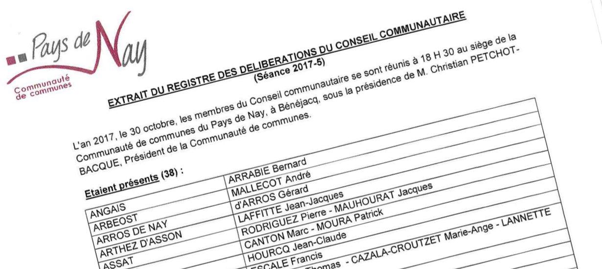 cfd691e237a Retrouvez l Extrait du registre des délibérations communautaires (Séance  2017-5)